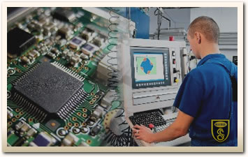 Electronic and machining
